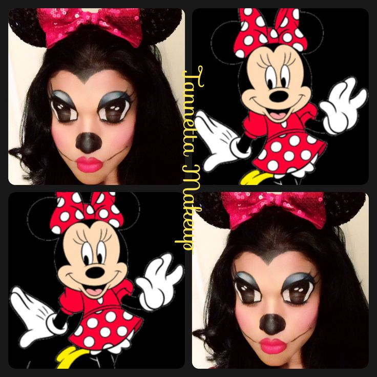13 best minnie mouse images on Pinterest | Costumes, Make up and ...