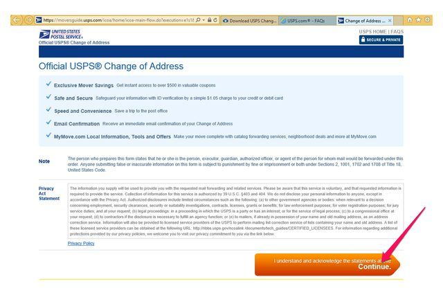 A Change Of Address Form And Other Types Of Postal Services News - address change form
