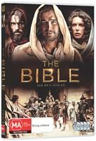 DVD The Bible (10 hour mini series) / Running time: Approx 10 hours   WORD Bookstores