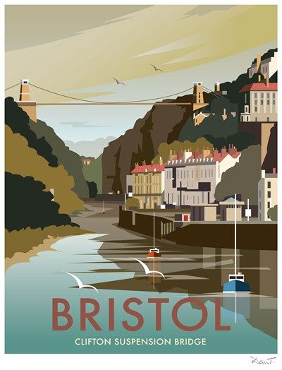 Bristol Print at Whistlefish Galleries - handpicked contemporary & traditional art that is high quality & affordable. Available online & in store