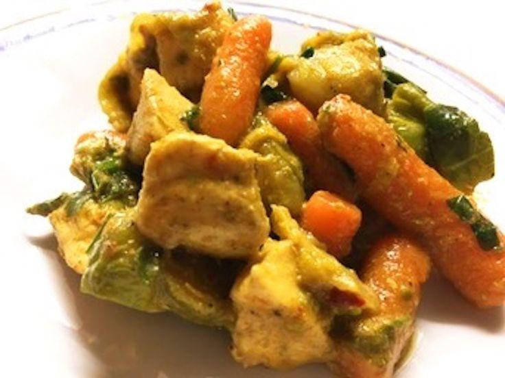 Indiai paleo csirke, ha különlegesre vágynál.
