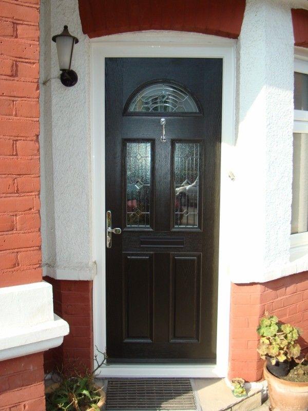 traditional #UPVC #Composite entrance door