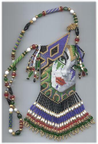 peyote amulet bags | Amulet Bag Bead Patterns