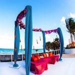 Suhaag Garden, Florida Indian wedding decorators, Trump International Beach Resort, poolside wedding, outdoor wedding, beach wedding, destination wedding, Mehndi, oceanfront