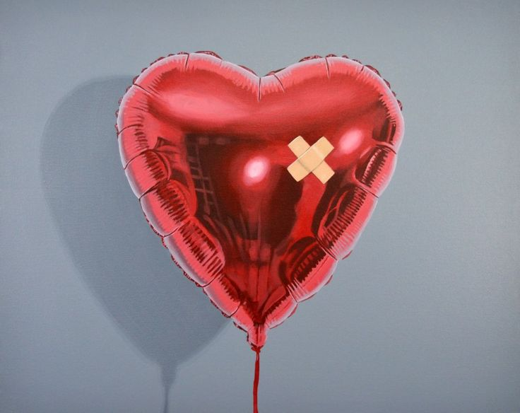 Inspired by the various heart balloon stencils and paintings created by Banksy, I thought this would be fun for Valentines weekend! is it a broken heart or a mended heart though??