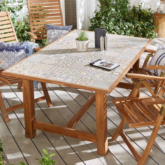 Outdoor Tisch Fliese Outdoor Tisch Fliesen Tische Aussengestaltung