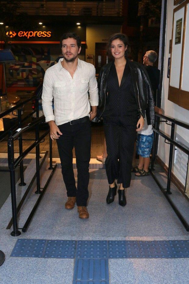 Daniel Oliveira e Sophie Charlotte (Foto: Fotos: Thiago Duran/AgNews)