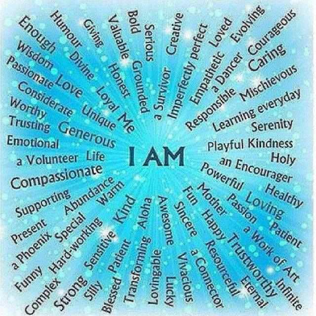 I Am That... I Am.  #trueself #beyourself #believeinyourself