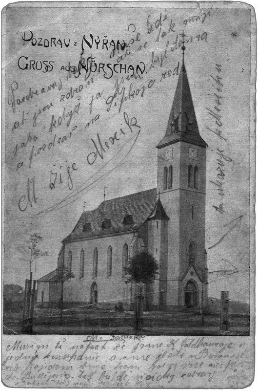 1904, Nýřany, Kostel sv. Prokopa