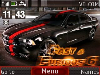 Free Fast & Furious 6 theme by galina53 on Tehkseven