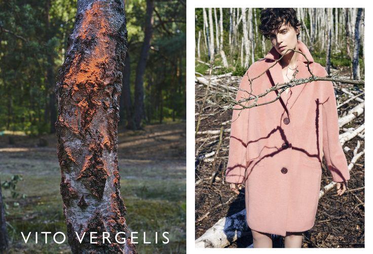 VITO VERGELIS campaign FW15/16 photos: Zuza Krajewska, model: Charlotte Tomaszewska #vitovergelis #fashionbrand #polskamarka #zuzakrajewska #pinkcoat
