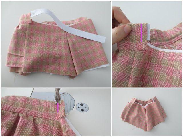 Cómo hacer la cintura de un pantalón para niños con la parte trasera con goma by cosotela