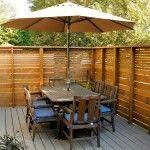DIY Pallet Privacy Fence