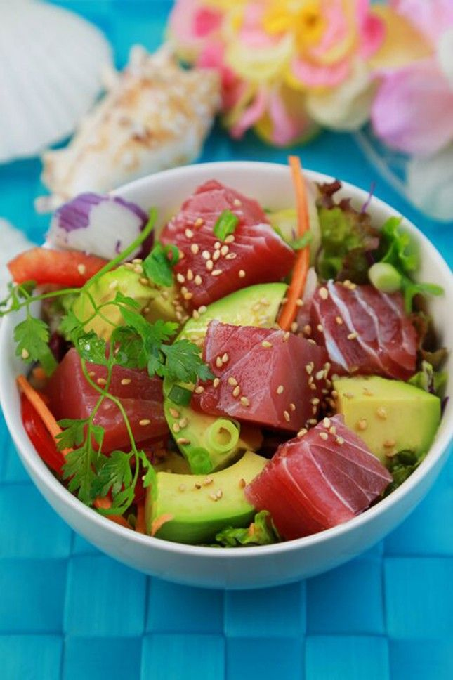 Poké [a salad traditionally composed of marinated raw tuna] and Spam are two ingredients that have long been comfort foods for Hawaiians