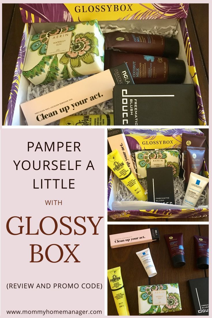When is the last time that you gave yourself a little treat? Glossybox sends you a small gift box full of things to pamper yourself every month! If you or someone you know deserves a little present, check this out! Great gift for mom, sister, friend, bridal shower, any lady.
