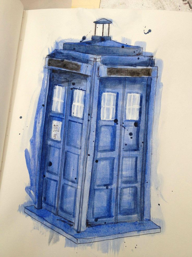 beautiful TARDIS rendering.