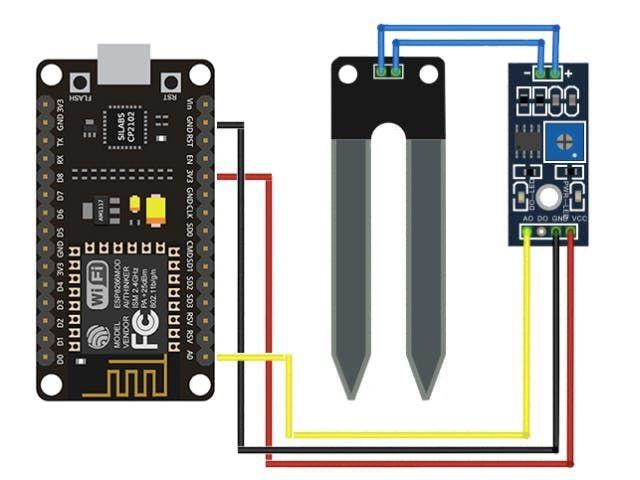 Soil Moisture Sensor Arduino Tutorial Arduino Sensoren Arduino Himbeeren
