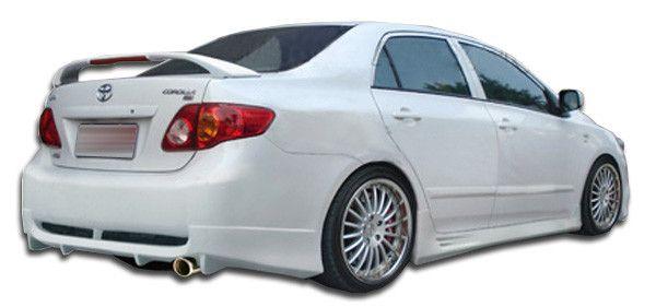2009-2010 Toyota Corolla Duraflex Skylark Rear Bumper Cover - 1 Piece