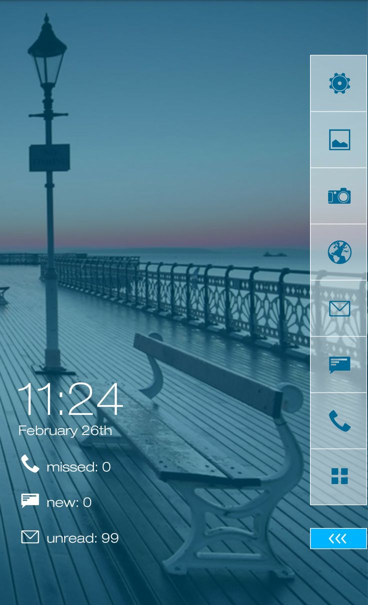Pier for Themer Android Homescreen by Themer - MyColorscreen