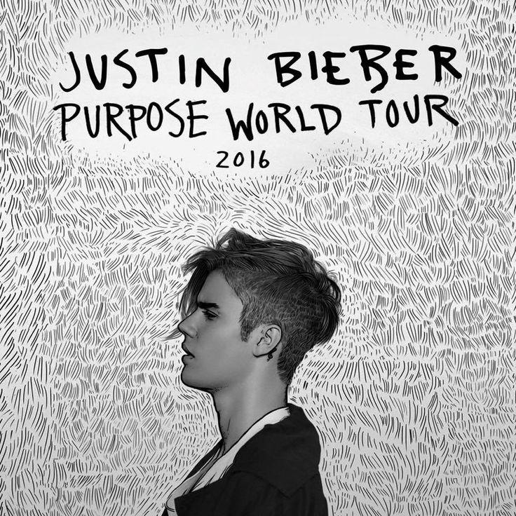 It's oficial .. Justin Bieber's world tour ! PURPOSE