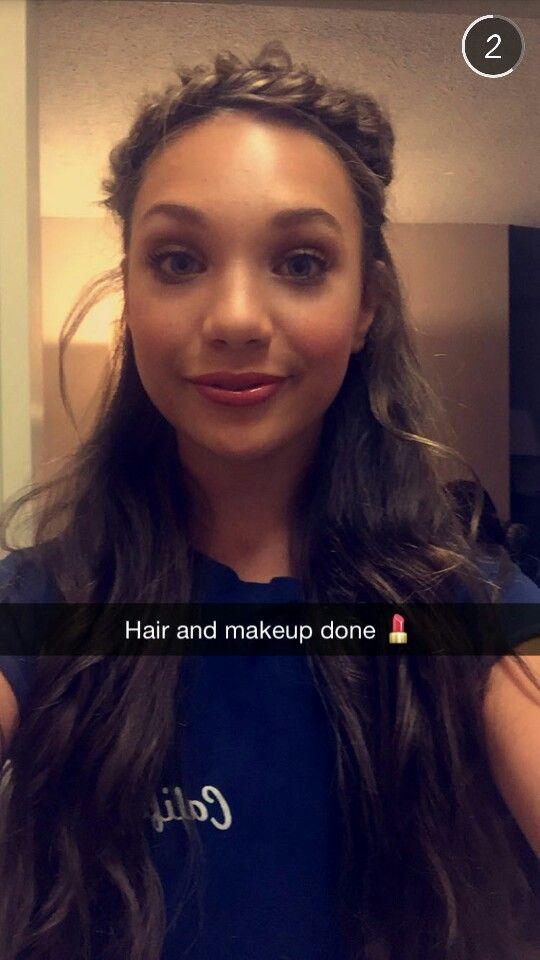 #MaddieTakeoverTeenVogue. Maddie on Teen Vogue's Snapchat. •uploaded by @KatieIceSkating•