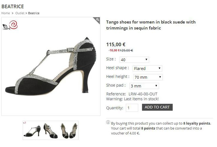 "OUTLET - women tango shoes. Special price and immediate delivery for ""Beatrice"", size 40! Only 115 € instead of 125 €! Last item in stock!!!! Hurry up http://www.italiantangoshoes.com/shop/en/outlet/132-tracy.html"