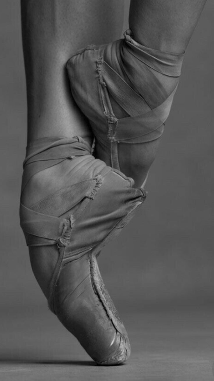 Love this picture! Blood, sweat, tears and ratty pointe shoes!