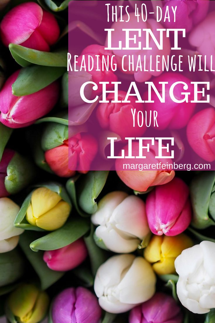 This 40-Day Lent Reading Challenge Will Change Your Life | margaretfeinberg.com