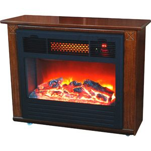 Electric Fireplace On Wheels Basement Suite Reno Room