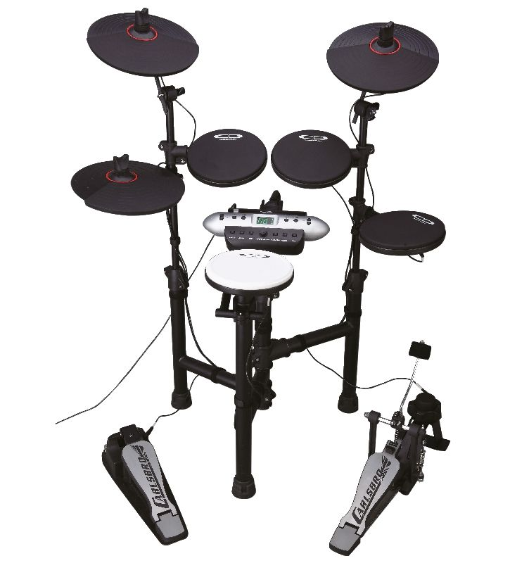 CSD525 - Compact Electronic Drum KitDigital Drums which look great and sound superb. Stylish and innovative is an understatement... CD engineers listened to drummers all around the world and combining innovative technology have created astounding electronic kits that deliver what today's drummers expect, enabling you to experience that acoustic drum feel. More information can be found on our website. £299
