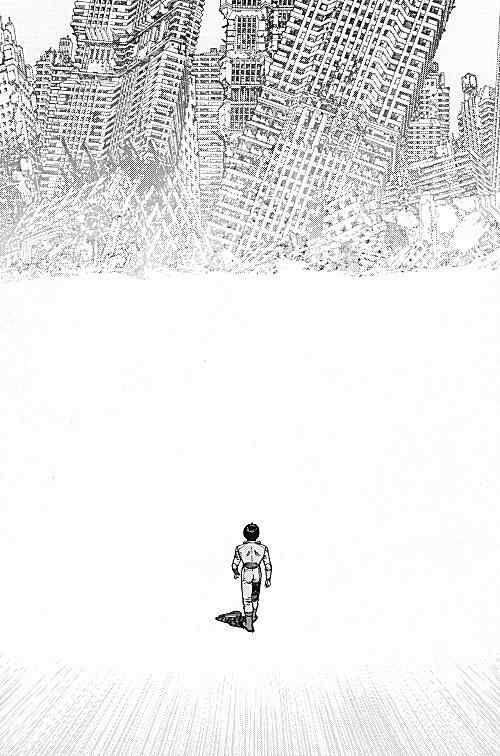 Katsuhiro Otomo, Akira manga