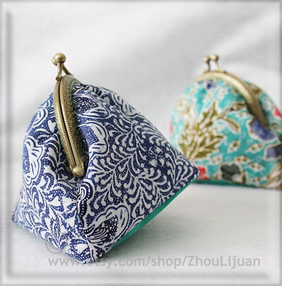 Metal Frame Purse Diy Sewing Kit By Zhoulijuan On Etsy 6