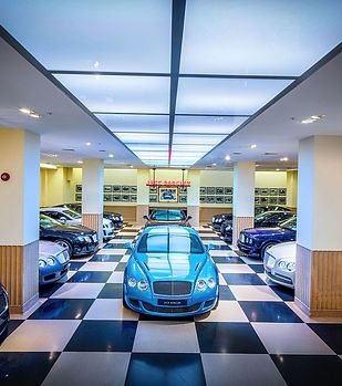 Location photography for Jack Barclay car showroom, by RGB Digital Ltd in London