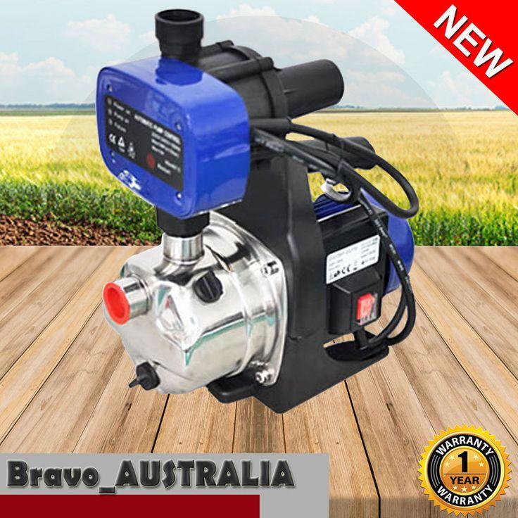 Electric Water Pump 1200W Garden Rain Tank Clean Auto Home Irrigation Pond