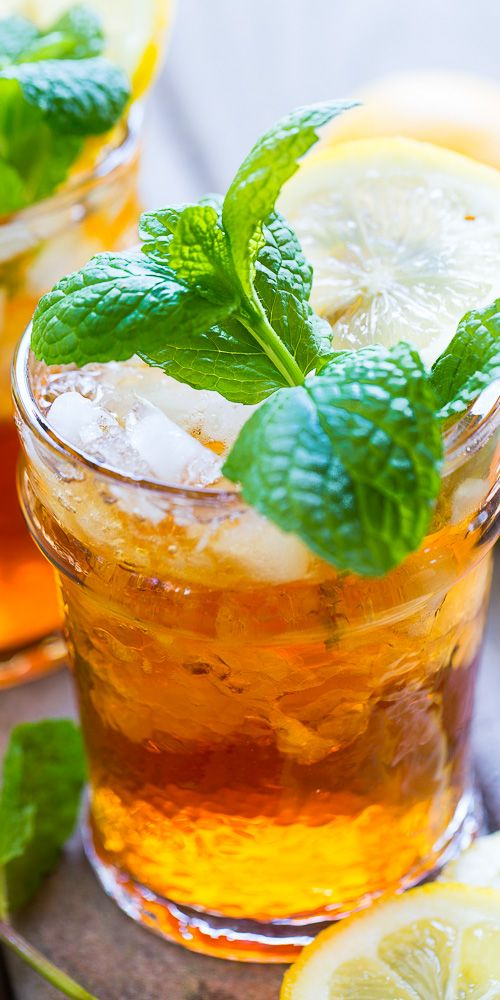 Sweet Tea Mint Julep - a combination of 2 favorite southern drinks that's perfect for celebrating the Kentucky Derby.