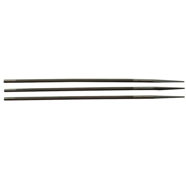 Timber Tuff 1/8 in. Steel Chainsaw Files for Manual Bar Mount Chainsaw Sharpeners (3-Pack)