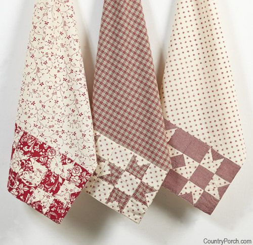 Kitchen towel set. I know they're towels but its a good idea for pillow cases