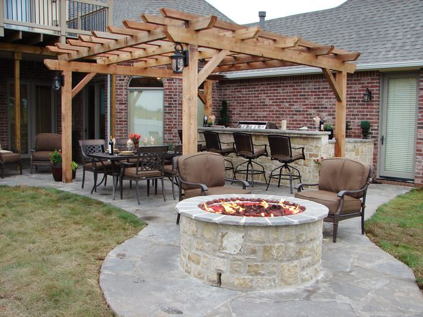 Backyard: Backyard Ideas, Backyard Firepit, Outdoor Living, Backyard Fire Pit, Outdoor Fireplaces, Outdoor Spaces, Backyard Fireplaces Diy, Outdoor Firepit Diy, Firepit Backyard Diy
