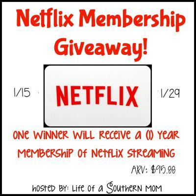 Netflix Streaming Membership Giveaway ~ Ends 1/29 - mama pure