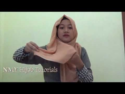 Easy Hijab Tutorials Style Of Paris Hijab For Every Day - YouTube