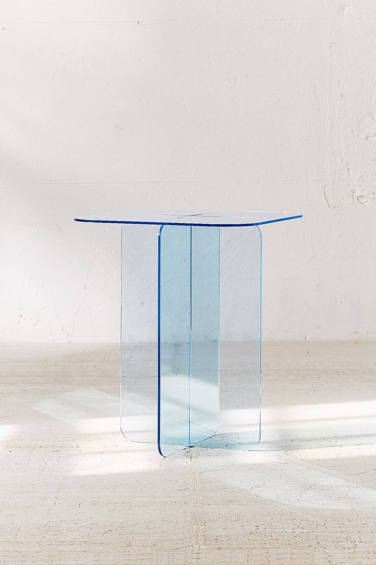 Gold and brass fixtures and faucets promising or passe apartment - Halvar Acrylic Side Table