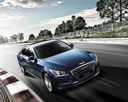 Highlights:  Second-generation of critically acclaimed Hyundai flagship on sale here in July 2014. High-tech rear-drive four-door poised to shake up the luxury sedan market. Genesis Sedan showcases Hyundai's highest levels of quality, technology and dynamic ability.