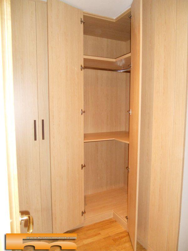 Las 25 mejores ideas sobre armario esquinero en pinterest for Diseno de armarios online