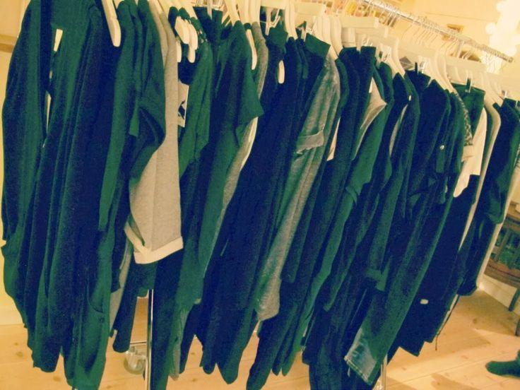 Lækkert tøj på række..