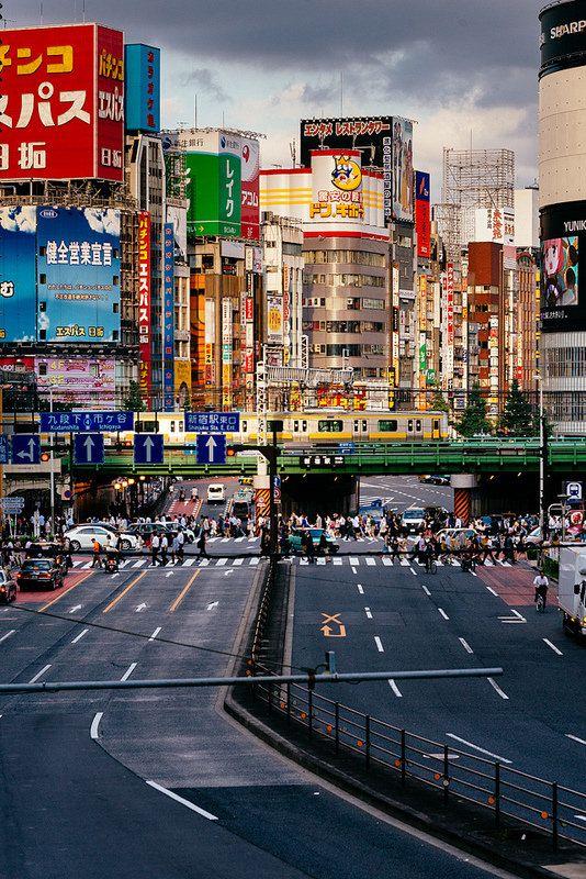 Shinjuku Sunset,Japan