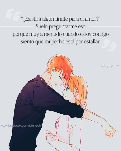 Existiran Limites Para El Amor Frases De Anime Animequotes