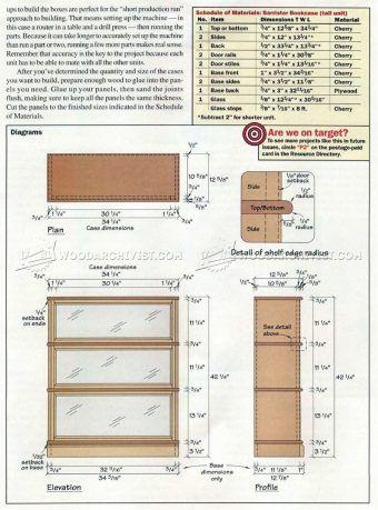 1000 ideas about bookcase plans on pinterest dresser for Build your own bookshelves plans