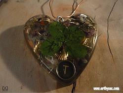 SP-OAEBB-Magnetic energy catcher heart-T-key