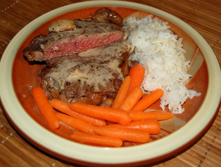 Ribeye is a fatty cut, which fits the Perfect Health Diet macronutrient ratios.