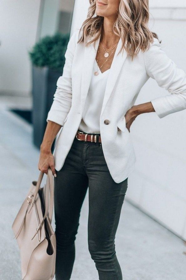 20 Top Looks Outfit Ideas With Blazer You Have To Try – Fashionable – Inspiração